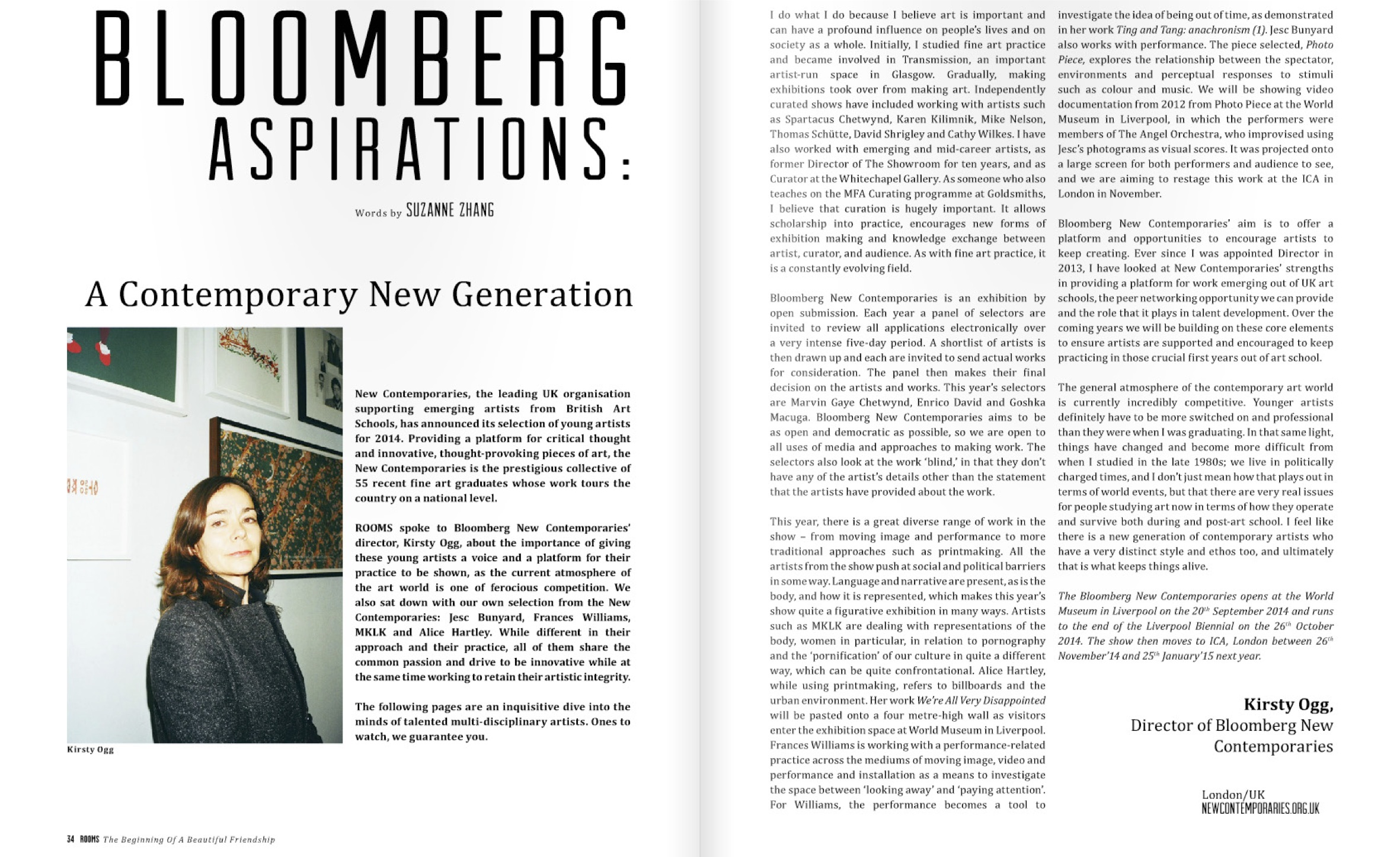 introROOMS magazine _ A Contemporary New Generation